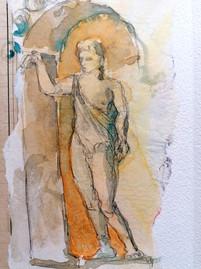 Statue à Pompéi