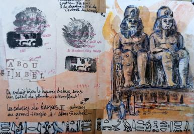 Abou Simbel temple