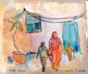 Ruelle à Gorée