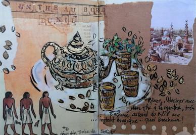 Un thé au bord du Nil