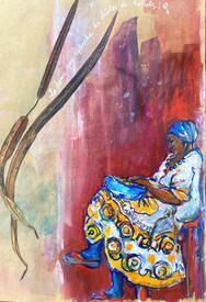 La femme aux haricots