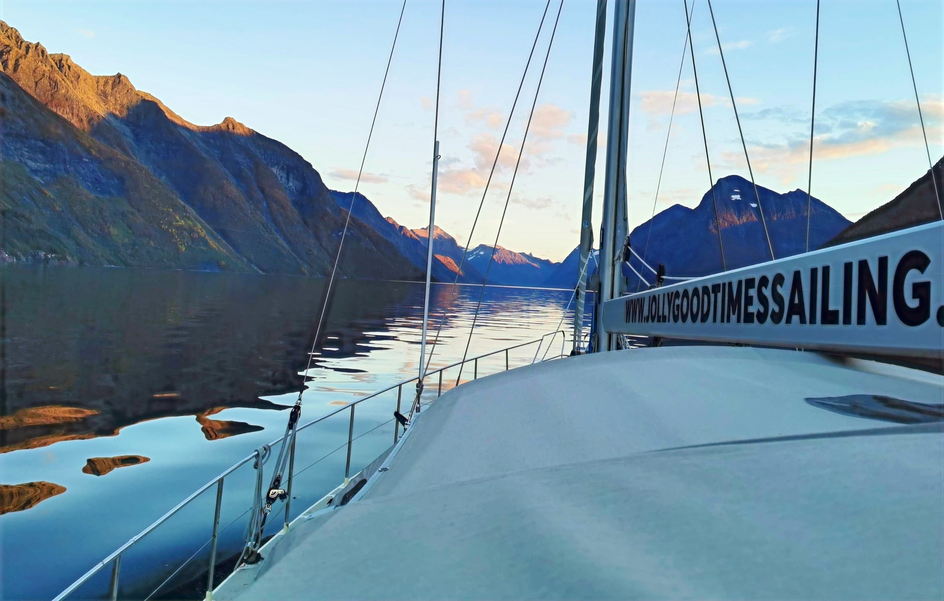 FJORDS OF POSSIBILITIES _ SAIL CHARTER I