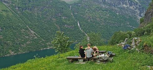 PICNIC IN SKAGEFLÅ  JOLLY GOOD TIMES SAILING   SUNMMØRE, NORWAY