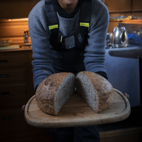 The captain's bread