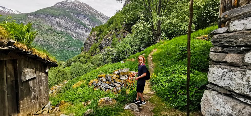 Fjord Farm view