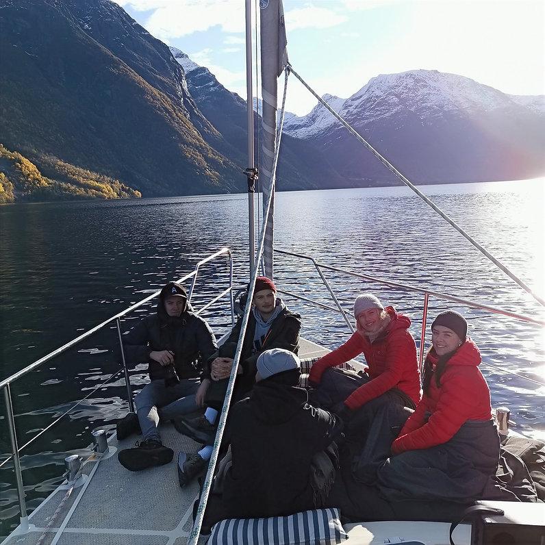 Sailing in Hjørundfjord | Jolly Good Times Sailing | Sunnmøre, Norway