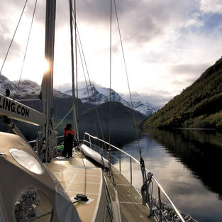 SAILING AND RELAXING ON THE WAY TO THE NEXT PEAK