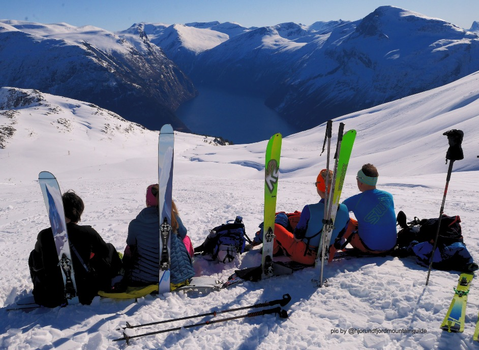 SKI AND SAIL IN THE SUNNMØRE ALPS, NORWAY