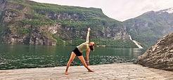 Yoga in Geiranger   Jolly Good Times Sailing    Sunnmøre, Norway