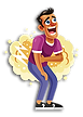 Man-Laughing-Out-Loud-Vector-Illustratio