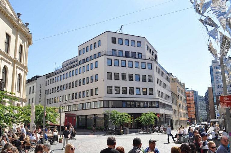 St Olavs plass 3 - Lokalene er i det ven