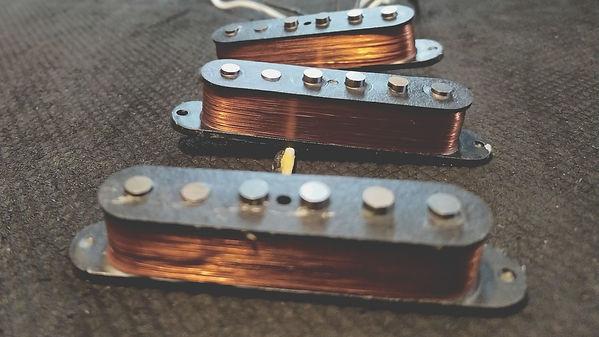 Holy Moly's Stratocaster Pickups Set