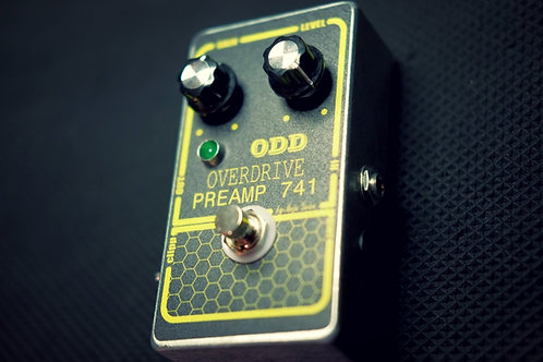 Odd Preamp 741 Overdrive/boost