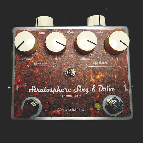 Stratosphere Sing&Drive chanell strip/overdrive pedal