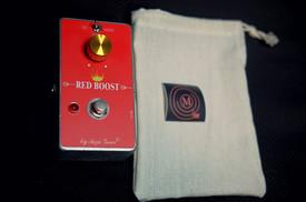 Red Boost / Treble Booster/ Rangemaster