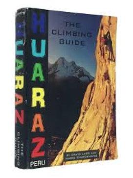 LIBRO HUARAZ THE CLIMBING GUIDE
