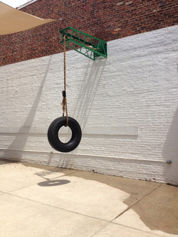 Tire swing for a New DC
