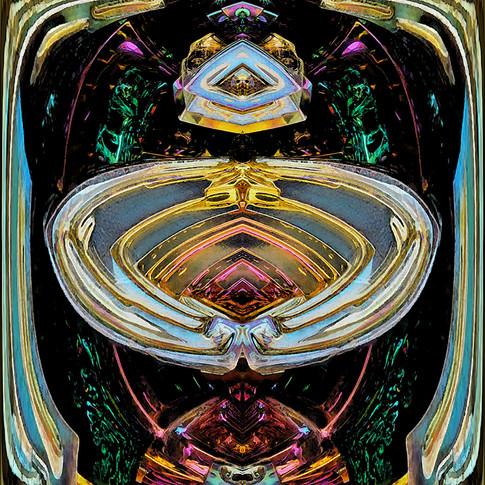 Symmetrical fractal art