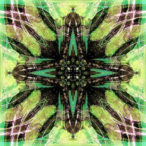 Fractal symmetrical pattern