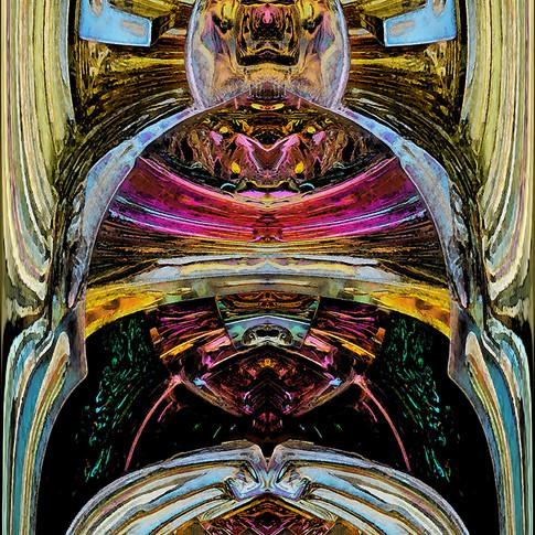 Symmetrical fractal pattern