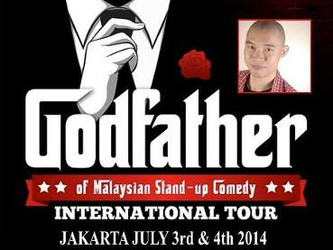 The Godfather of Malaysian Stand-up Comedy (Jakarta Tour)