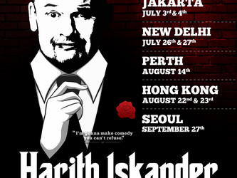 The Godfather of Malaysian Stand-up Comedy Harith Iskander Sets on an International Tour Spreading L