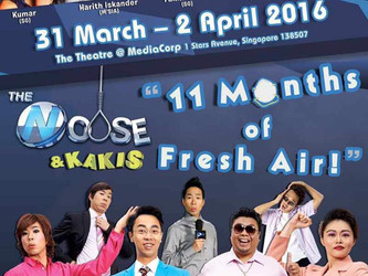 The Noose and Kakis: 11 Months of Fresh Air