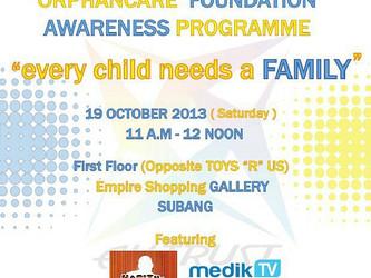 Orphanage Awareness Foundation Programme