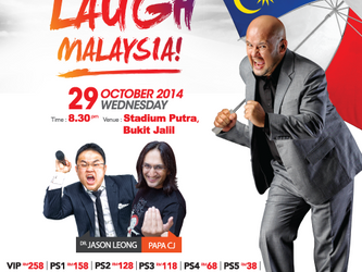 The BIGGEST STAND-UP comedy show in ASIA!