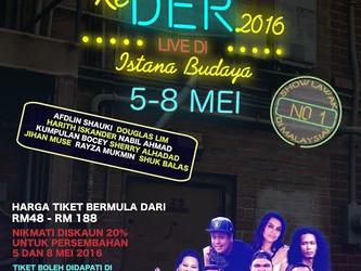 LAWAK Ke DER 2016 Live di Istana Budaya