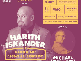 A Stand Up Musical Comedy