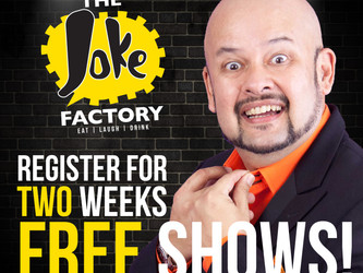 The Joke Factory - FREE comedy shows for 2 whole WEEKS!*