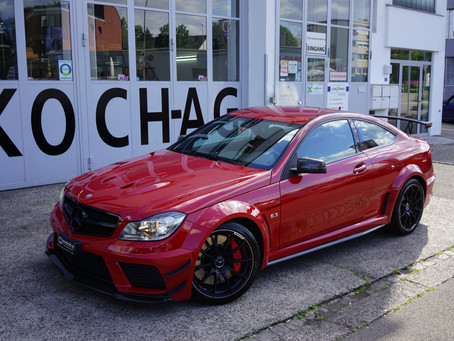 MERCEDES-BENZ C 63 Coupé AMG Black-Series