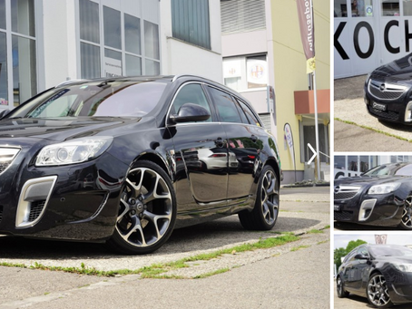 Neu im Haus... Opel Insignia OPC 325PS Power-Kombi