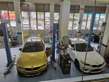 BMW M2 und BMW M4 by Garage Koch AG