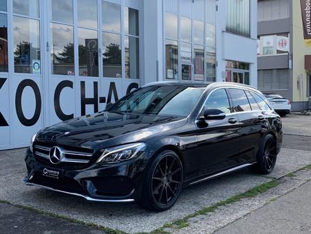 Mercedes C180 frisch eingetroffen