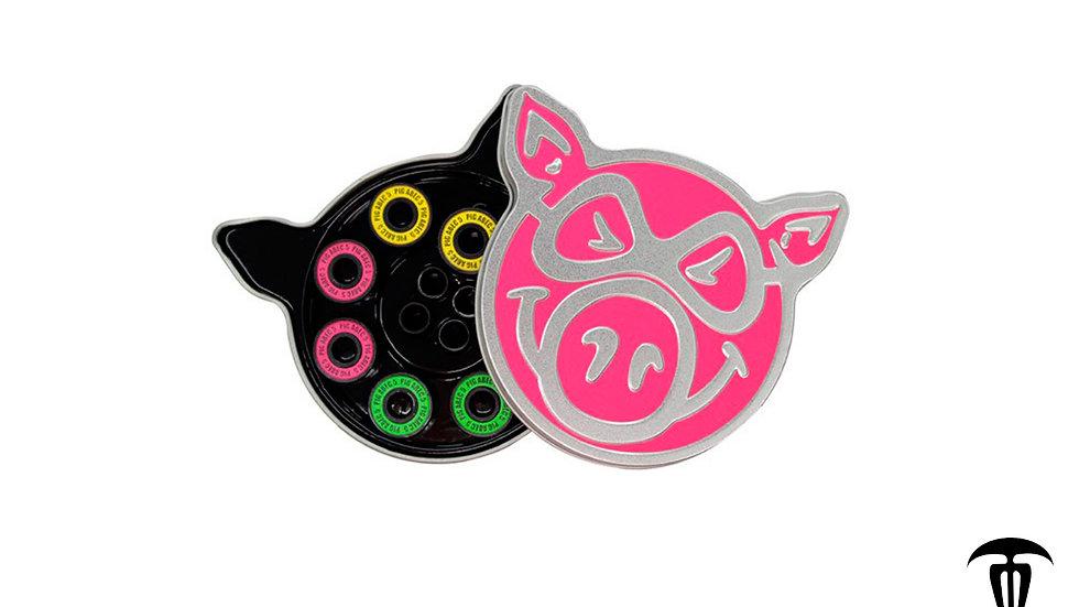 Baleros Pig Wheels Neon Pink