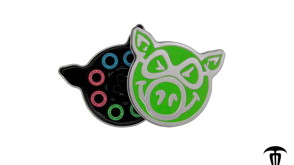 Baleros Pig Wheels Neon Green