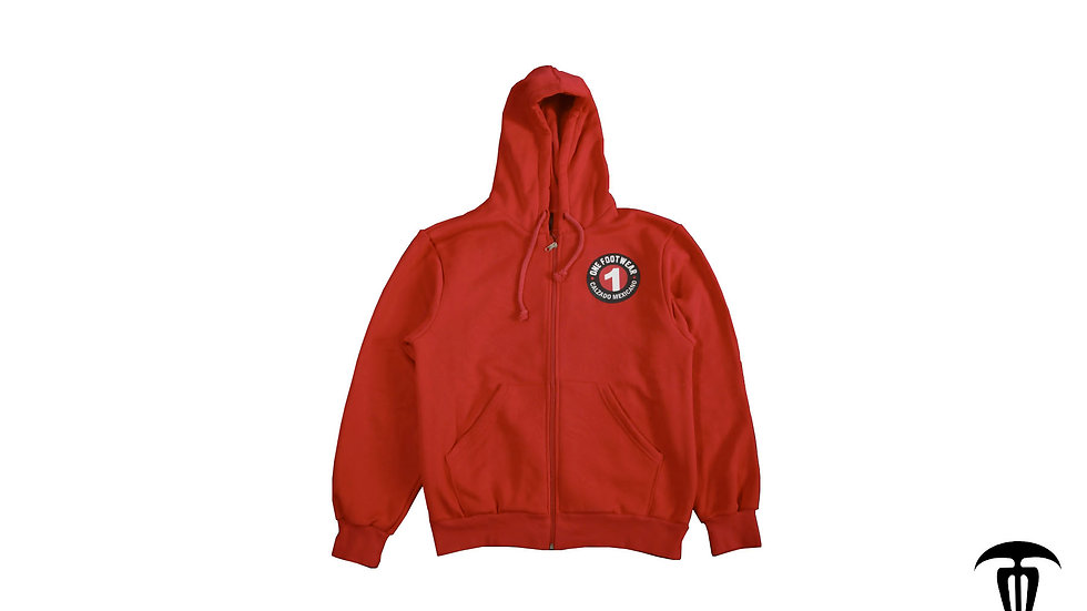 Sudadera One Footwear Roja