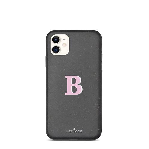 #PinkHemlock Funda biodegradable iPhone - Monogram B