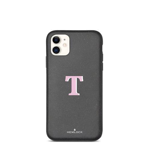 #PinkHemlock Funda biodegradable iPhone - Monogram T