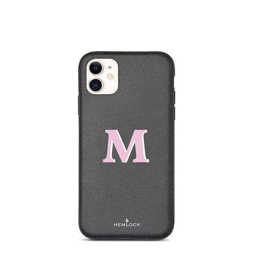 #PinkHemlock Funda biodegradable iPhone - Monogram M