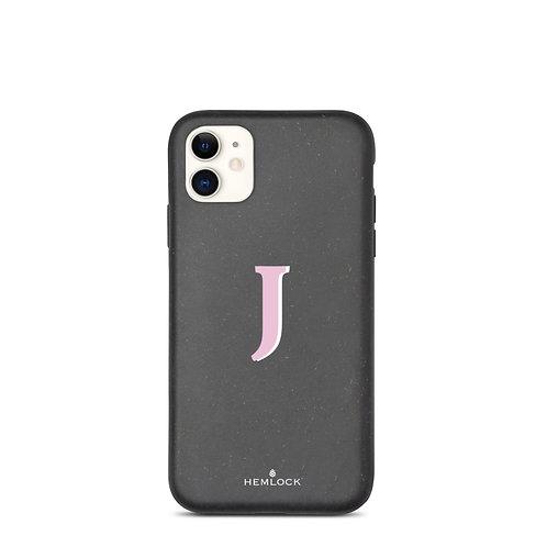 #PinkHemlock Funda biodegradable iPhone - Monogram J