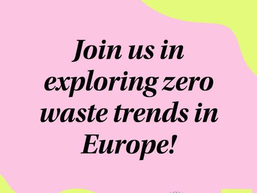 Exploring zero waste trends in Europe
