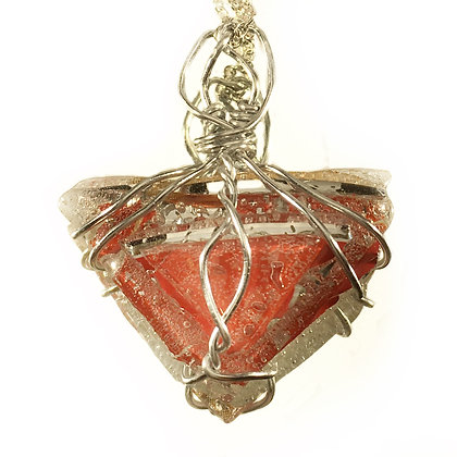 Red triangle Pendant