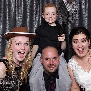Brittany & Tarren's Wedding - Photo Booth