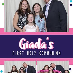 Giada's First Holy Communion