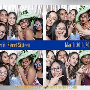 Alexis' Sweet 16 - Photo Booth