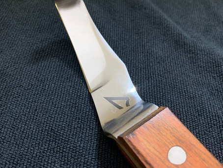 Sharpening Hoof Knife