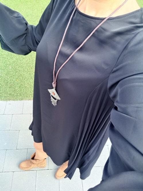 Losse jurk met ketting